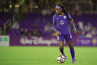 Orlando, FL - Saturday June 03, 2017: Chioma Ubogagu during a regular season National Women's Soccer League (NWSL) match between the Orlando Pride and the Boston Breakers at Orlando City Stadium.