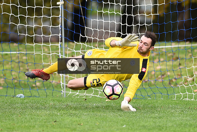 NELSON, NEW ZEALAND - MPL - Nelson Suburbs v Universities. Saxton Field, Richmond, New Zealand. Sunday 29 April 2018. (Photo by Chris Symes/Shuttersport Limited)