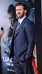 """Chris Evans at the premiere of """"Captain America The Winter Soldier"""" held at the El Capitan Theatre in Los Angeles, Ca. March 13, 2014."""