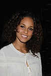 Alicia Keys (producer and original music) of Broadway's Stick Fly at the after party for the last performance on February 26, 2012 at 48 Lounge, New York City, New York.  (Photo by Sue Coflin/Max Photos)