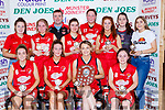 St Marys team celebrate after winning the Div 2 Ladies final at the St Marys Basketball Blitz on Saturday Front row l-r: Millie Luck, Danni Reidy, Labhaoise Walmsely, Nicole Downey. Back row: Shauna Ahern, Sarah O'Sullivan, Liam Culloty coach, Maebh Young,Ciara Ryan, kayla o'Connor, Aoife Nolan, and Brid Moriarty