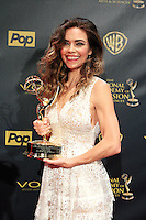 BURBANK - APR 26: Amelia Heinle at the 42nd Daytime Emmy Awards Gala at Warner Bros. Studio on April 26, 2015 in Burbank, California