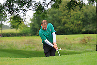 Declan Reidy (Co. Sligo) on the 2nd during round 1 of The Mullingar Scratch Cup in Mullingar Golf Club on Sunday 3rd August 2014.<br /> Picture:  Thos Caffrey / www.golffile.ie