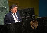 GA 72<br /> High-level meeting of the General Assembly on the appraisal of the United Nations Global Plan of Action to Combat Trafficking in Persons<br /> 25th plenary meeting<br /> <br /> Philippine