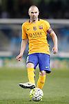 FC Barcelona's Andres Iniesta during La Liga match. April 9,2016. (ALTERPHOTOS/Acero)
