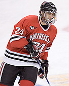 Denis Chisholm - The Boston College Eagles defeated the Northeastern University Huskies 5-2 in the opening game of the 2006 Beanpot at TD Banknorth Garden in Boston, MA, on February 6, 2006.