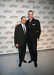 Hetrick-Martin Institute's Thomas Krever and Jerry Mitchell Attend Jeffrey Fashion Cares 10th Anniversary New York Fundrasier Hosted by Emmy Rossum Held at the Intrepid, NY 4/2/13