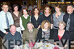 Having a great time at the Causeway GAA Club Social held in The Ballyroe Heights Hotel on Friday night were seated l/r Jimmy Murphy, Liam Leen, Margaret Leen and Bridie Murphy, standing l/r John & Evelyn Leen, Julie Murphy, Majella O'Sullivan, Patsy Dineen, Kathleen O'Halloran and Tom Murphy.   Copyright Kerry's Eye 2008