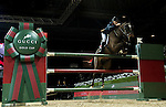Joe Clee of United Kingdom riding Vedet de Muze E T in action at the Gucci Gold Cup during the Longines Hong Kong Masters 2015 at the AsiaWorld Expo on 14 February 2015 in Hong Kong, China. Photo by Victor Fraile / Power Sport Images