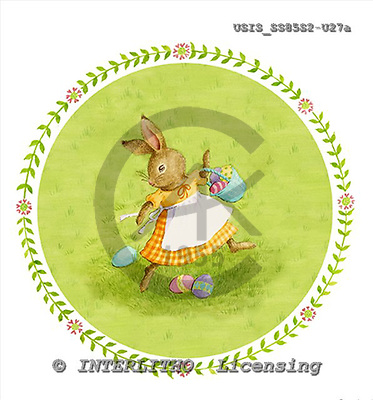 Ingrid, EASTER, OSTERN, PASCUA, paintings+++++,USISSS85S2-U27A,#E# rabbit