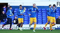 Preston North End's Tom Clarke during the pre-match warm-up <br /> <br /> Photographer David Shipman/CameraSport<br /> <br /> The EFL Sky Bet Championship - Ipswich Town v Preston North End - Saturday 3rd November 2018 - Portman Road - Ipswich<br /> <br /> World Copyright &copy; 2018 CameraSport. All rights reserved. 43 Linden Ave. Countesthorpe. Leicester. England. LE8 5PG - Tel: +44 (0) 116 277 4147 - admin@camerasport.com - www.camerasport.com