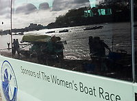 Putney, London,  Tideway Week, Championship Course. River Thames, &quot;Reflections&quot;, CUWBC, Boating outside Thames RC, <br /> <br />  Saturday  01/04/2017<br /> <br /> [Mandatory Credit; Credit: Peter SPURRIER/Intersport Images.com ]