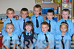 CLASS OF 2008: The junior infants class of 2008 at Coolick NS, Kilcummin pictured front l-r: Jean Foley, Claudia Counihan, Colm Kelleher and Elena Doherty. Back l-r: Cian Murphy, Michael O'Donoghue, Adam O'Sullivan, Brendan Griffin and Dylan Short.   Copyright Kerry's Eye 2008