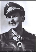 BNPS.co.uk (01202 558833)<br /> Pic: BNPS<br /> <br /> A German fighter ace has been reunited with a plane he would have flown during the war.<br /> <br /> Hugo Broch was a Messerschmitt 109 fighter pilot who fought on the Eastern Front and shot down a staggering 81 enemy aircraft during 324 combat missions.<br /> <br /> He won the German Cross in Gold and the Iron Cross 1st and 2nd Class.<br /> <br /> Mr Broch attended the Chalke Valley History Festival on Monday where he gave a talk about his experiences.