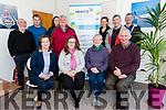 Members of the Corca Dhuibhne Local Area Advisory Council community activists and NEWKD staff launching the new NEWKD Dingle office in C&uacute;il&iacute;n, Dingle, on Monday noon. <br /> F-l: Caroline Boland (Dingle Peninsula Tourism), Isabel Bennet, Maire U&iacute; L&eacute;ime (Cuas), James Kildea (Corca Dhuibhne LAAC). B-l: Eoghan &Oacute; Loingsigh (Corca Dhuibhne LAAC), Padraig Brosnan (NEWKD), Tara O'Dowd (NEWKD), Pat &Oacute; S&eacute; (Corca Dhuibhne LAAC), Grainne Brosnan (Dingle Peninsula Tourism), Risteard Johnston (Corca Dhuibhne LAAC), Seamus O'Hara (NEWKD).