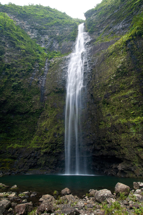 Hanakapiai Falls, Napali Coast, Kauai, Hawaii