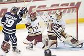 Matt Fornataro, Pat Gannon, Cory Schneider - The Boston College Eagles and University of New Hampshire earned a 3-3 tie on Thursday, March 2, 2006, on Senior Night at Kelley Rink at Conte Forum in Chestnut Hill, MA.  Boston College honored its three seniors, captain Peter Harrold and alternate captains Chris Collins and Stephen Gionta, before the game.