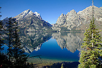 Jenny Lake Reflection, Grand Teton National Park