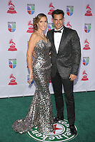 LAS VEGAS, NV - NOVEMBER 15 :  Angelica Castro and Cristian de la Fuente pictured at the 2012 Latin Grammys at Mandalay Bay Resort on November 15, 2012 in Las Vegas, Nevada.  Credit: Kabik/Starlitepics/MediaPunch Inc. /NortePhoto