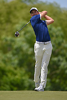 Aaron Wise (USA) watches his tee shot on 4 during round 4 of the AT&T Byron Nelson, Trinity Forest Golf Club, Dallas, Texas, USA. 5/12/2019.<br /> Picture: Golffile   Ken Murray<br /> <br /> <br /> All photo usage must carry mandatory copyright credit (© Golffile   Ken Murray)