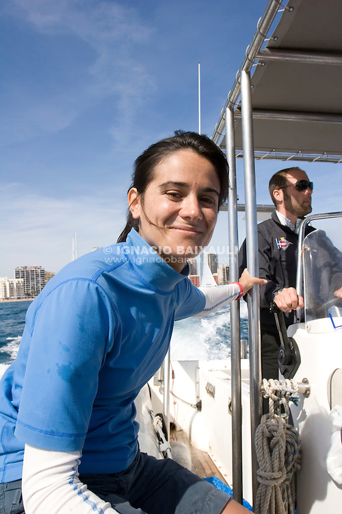 Marga Cameselle.. Spain - X Criterium Internacional Femenino de Match Race - 22-26 April 2008 - Real Club Náutico de Calpe, Calpe, Alicante, Spain - Match Race - Tom28