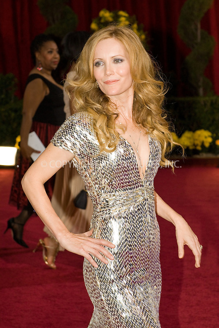 WWW.ACEPIXS.COM . . . . .  ....February 22, 2009. Hollywood, CA....Actress Leslie Mann arrives at the 81st Annual Academy Awards held at the Kodak Theater on February 22, 2009 in Hollywood, CA.......Please byline: Z09- ACEPIXS.COM.... *** ***..Ace Pictures, Inc:  ..Philip Vaughan (646) 769 0430..e-mail: info@acepixs.com..web: http://www.acepixs.com