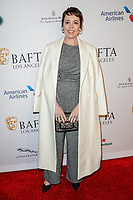 05 January 2019 - Los Angeles, California - Olivia Colman. the BAFTA Los Angeles Tea Party held at the Four Seasons Hotel Los Angeles.          <br /> CAP/ADM<br /> ©ADM/Capital Pictures