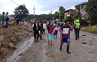MOCOA - COLOMBIA - 01-04-2017: Aspecto de la tragediá ocurrida ayer, 31 marzo de 2017, en la ciudad de Mocoa al sur de Colombia. El desbordamiento de tres ríos y una avalancha de lodo y piedra que se presentaron en la noche de este viernes, han dejado 154 personas fallecidas y más de 200 heridos. / Aspect of the tragedy happened yesterday, 31 of March 2017, in the city of Mocoa in southern Colombia. The flood of three rivers and an avalanche of mud and stone that appeared on the night of this Friday, have left 154 people dead and more than 200 injured. Photo: VizzorImage / L Castro / CONT