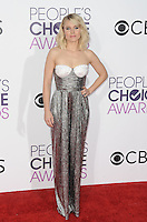 www.acepixs.com<br /> <br /> January 18 2017, LA<br /> <br /> Kristen Bell arriving at the People's Choice Awards 2017 at the Microsoft Theater on January 18, 2017 in Los Angeles, California.<br /> <br /> By Line: Peter West/ACE Pictures<br /> <br /> <br /> ACE Pictures Inc<br /> Tel: 6467670430<br /> Email: info@acepixs.com<br /> www.acepixs.com