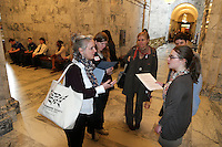 Animal advocates meet with their legislators during Humane Lobby Day in Olympia, Wash. on January 27, 2016. The event held by HSUS was attended by around 55 people who came out to learn about animal welfare issues and speak to legislative on their behalf.  (photo by Karen Ducey/ Animal News Northwest)