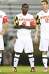 12 October 2012: Maryland's Sunny Jane. The University of Maryland Terrapins defeated the Duke University Blue Devils 2-1 at Koskinen Stadium in Durham, North Carolina in a 2012 NCAA Division I Men's Soccer game.