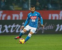 10th November 2018, Stadio Luigi Ferraris, Genoa, Italy; Serie A football, Genoa versus Napoli; <br /> Lorenzo Insigne of Napoli controls the ball