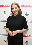 Jessica Chastain attends The Children's Monologues at Carnegie Hall on November 13, 2017 in New York City.