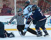 Marc Sullivan, Blaine Byron (Maine - 89), Max Kalter (UConn - 18) - The University of Maine Black Bears defeated the University of Connecticut Huskies 4-0 at Fenway Park on Saturday, January 14, 2017, in Boston, Massachusetts.