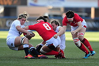 2019 02 24 Wales Women V England Women, Six Nations, Arms Park, Cardiff, Wales, UK.