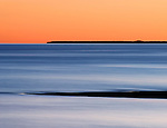 Lake Michigan In Twilight, Upper Peninsula, Michigan