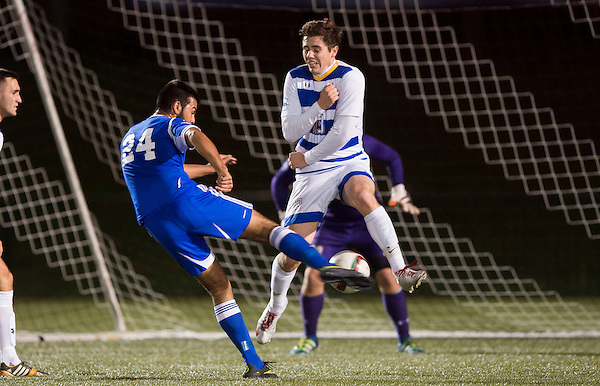 VANCOUVER,BC:OCTOBER 28, 2016 -- UBC Thunderbirds University of Lethbridge Pronghorns during CIS Canada West action at UBC in Vancouver, BC, October, 28, 2016. (Rich Lam/UBC Athletics Photo) <br /> <br /> ***MANDATORY CREDIT***
