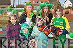 ST PATRICKS DAY: The Ballybunion Ceotas enjoying a great time at the Ballybunion St Patrick's Day Parade front l-r: Cormac and Caoimhe Scanlon. Back l-r: Leona Sheehy, Sarah-Jane Carmody, Debbie Sullivan and Maeve Scanlon..