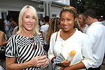 Laura Sweeney, Michelle Papillion==<br /> LAXART 5th Annual Garden Party Presented by Tory Burch==<br /> Private Residence, Beverly Hills, CA==<br /> August 3, 2014==<br /> &copy;LAXART==<br /> Photo: DAVID CROTTY/Laxart.com==