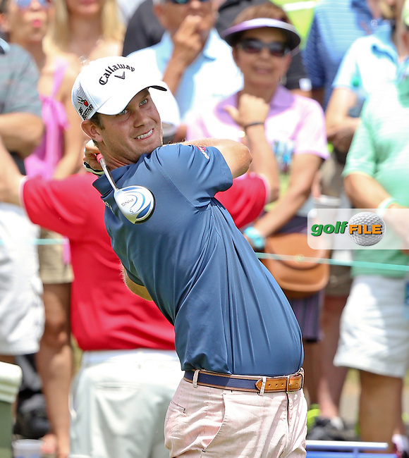 25 JUN 15 Harris English during Thursday's First Round at The Travelers Championship at TPC River Highlands in Cromwell,Conn.(photo credit : kenneth e. dennis/kendennisphoto.com)