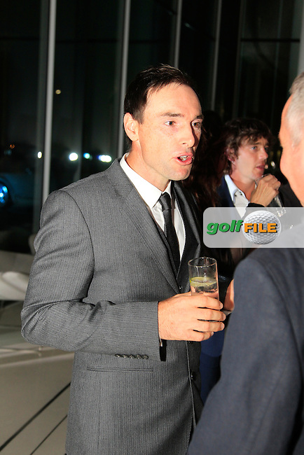 Oliver Wilson during the 2015 Abu Dhabi Invitational Gala Evening held at The Viceroy Hotel, Yas Island, Abu Dhabi.: Picture Eoin Clarke, www.golffile.ie: 1/25/2015