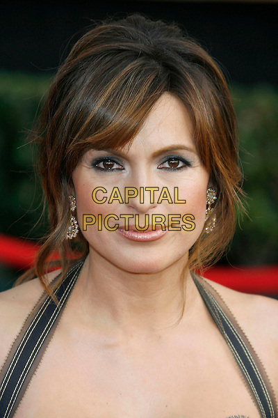 MARISKA HARGITAY.Red Carpet Arrivals - 13th Annual Screen Actors Guild (SAG) Awards, held at the Shrine Auditorium, Los Angeles, California, USA, 28 January 2007..Portrait headshot.CAP/ADM/RE.©Russ Elliot/AdMedia/Capital Pictures.