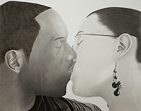 Shawn and Mona, 2008 35.5 x 24 in (88.9 x 71.12 cm)