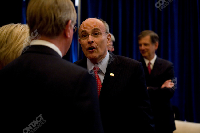 Rudy Giuliani, former Mayor of New York City, and potential 2008 Republican candidate, attended the Conservative Political Action Conference. Washington, D.C., March 2, 2007. ...