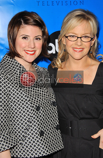 Melanie Patterson and Rachel Harris<br />