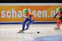 SCHAATSEN: DORDRECHT: Sportboulevard, Korean Air ISU World Cup Finale, 10-02-2012, Rianne de Vries NED (149), ©foto: Martin de Jong