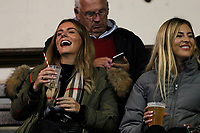 Fans having a laugh during the Championship Cup match between London Scottish Football Club and Yorkshire Carnegie at Richmond Athletic Ground, Richmond, United Kingdom on 4 October 2019. Photo by Carlton Myrie / PRiME Media Images