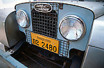 Laotian 1950s Land Rover Series 1 short wheel base Station Wagon. Asia, Laos, Vientiane 2004. --- No releases available. Automotive trademarks are the property of the trademark holder, authorization may be needed for some uses.