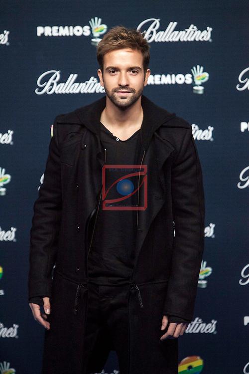 Gala Premios 40 Principales 2014.<br /> Pablo Alboran.