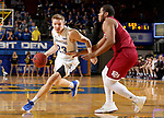 BROOKINGS, SD - JANUARY 13: Reed Tellinghuisen #23 from South Dakota State University looks to make a move against Emil Knighton #25 from Denver during their game Saturday afternoon at Frost Arena in Brookings, SD.  (Photo by Dave Eggen/Inertia)